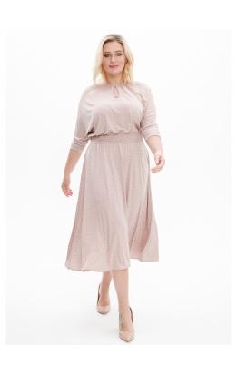 платье Софи2 (св-беж/мелк)