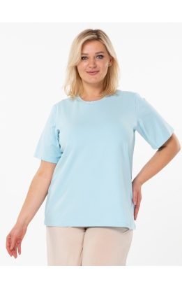 футболка База (голубой)
