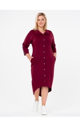 платье Гранта (бордо)
