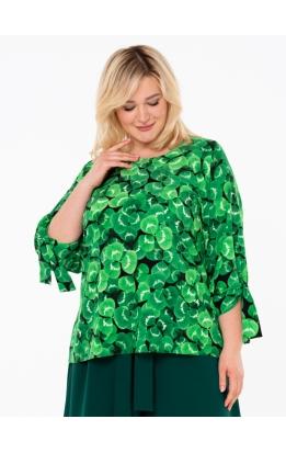 блуза Дороти (зеленый/клевер)