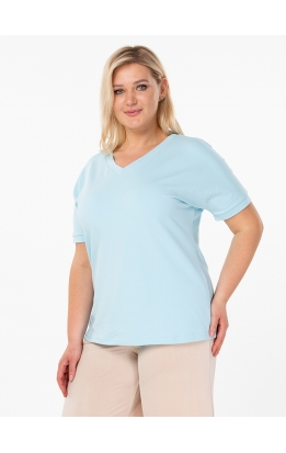 футболка Модерн (голубой)