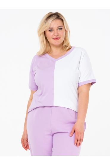 футболка Двухцветная