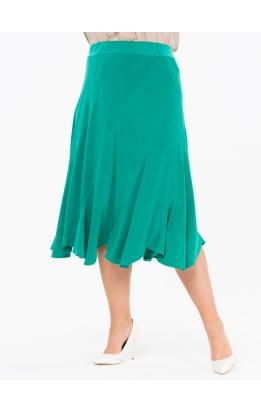 юбка МидиРаш (зеленый)