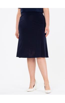 юбка Элегант (темно-синий)
