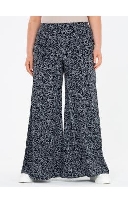 брюки ШтапиКлеш (черный/принт)