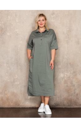 платье Альба (хаки)