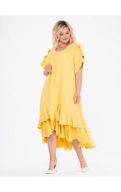 платье ЛайтСкай (желтый)