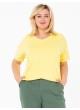 футболка Модерн (светло-желтый)
