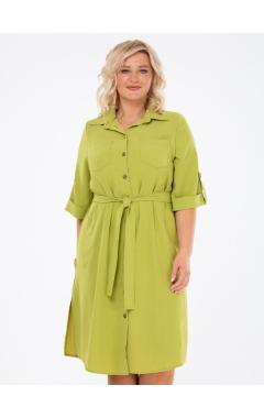 платье ДейзиЦея (оливковый)