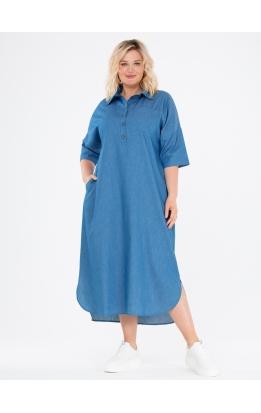 платье Альба Джинс (синий)