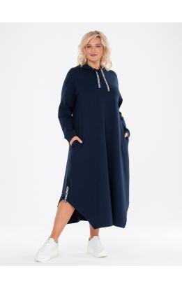 платье Калифорния (темно-синий)