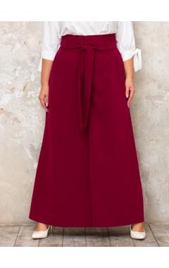 брюки Палаццо (винный)