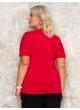 футболка Модерн (красный)