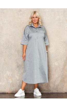 платье Альба Лайт (серый)