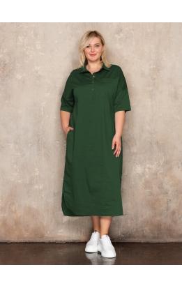 платье Альба Лайт (зеленый)