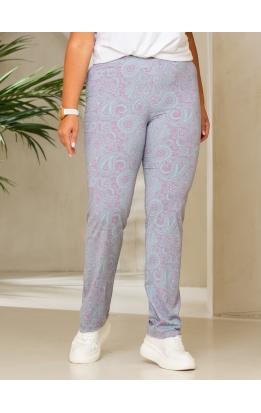 брюки Нори (зеленый/розовый)