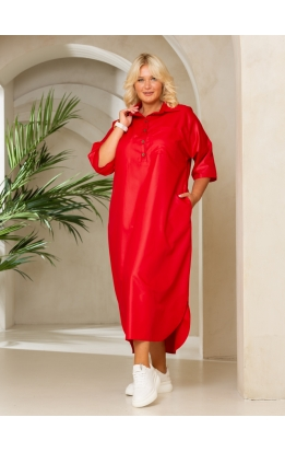 платье Альба (красный)