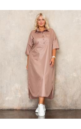 платье Альба (капучино)