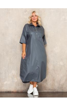 платье Альба (серый)