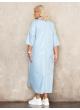 платье Альба (голубой)