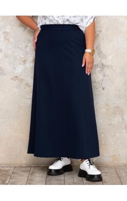 юбка Макси Милан (темно-синий)