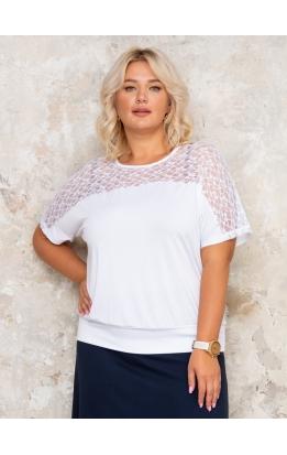 блуза Кружево2 (белый)