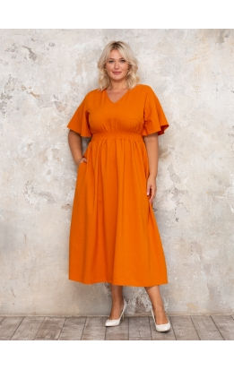 платье Ланвин (терракотовый)
