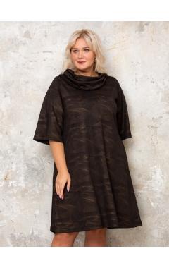 платье Берта (черный/золото)