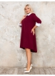платье Монро (бордо)