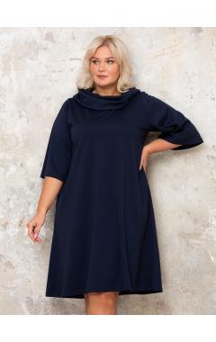 платье МоноБерта (темно-синий)