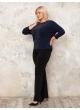 блуза Шейк (темно-синий)