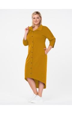 платье Гранта (горчица)