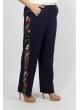 брюки Сакура (тёмно-синий)
