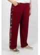 брюки Сакура (бордо)