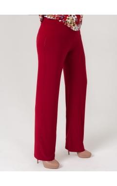 брюки Лиза (бордовый)