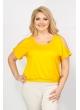 блуза Пляж (желтый)